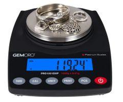 GEMORO PLATINUM PRO1001DXP PRECISION SCALE, 1000G X 0.01
