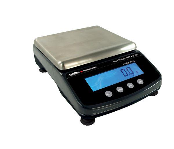GEMORO PLATINUM PRO6000 PRECISION SCALE, 6000G X 0.1G