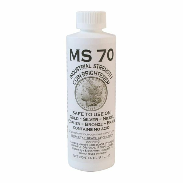 MS 70 Coin Brightener Case 12ea - 8 oz Bottles