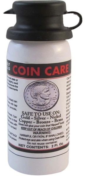 Coin Care by Betterbilt Chemicals - 2 oz Bottle - 60 ea per Case