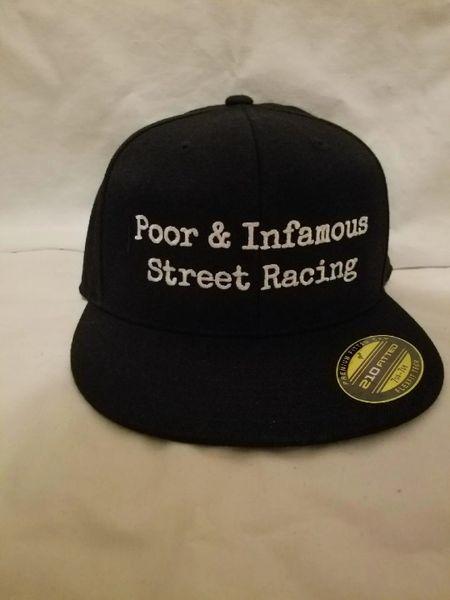 Poor & Infamous Street Racing Hats