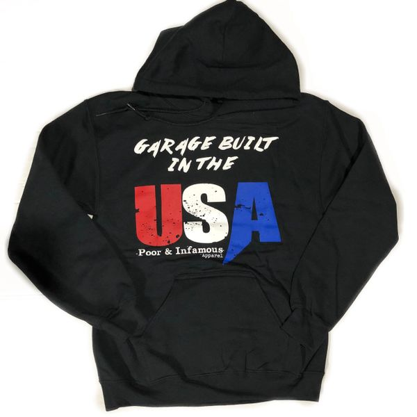 Garage Built in the USA / Raced In Mexico Hoodie