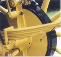 253B Brake Dust Shields, 20 hp, pair