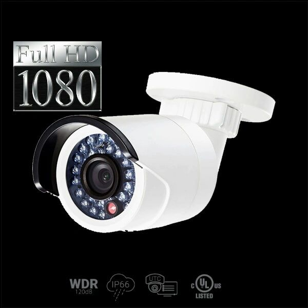 2.1 MP High Definition True WDR Bullet Camera 24 IR LED
