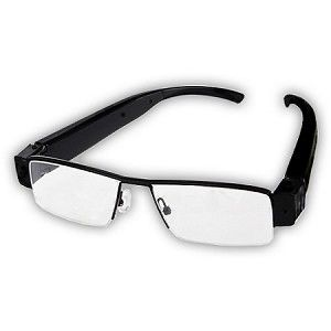Spy Hidden Eyeglass Camera HD 1080p Audio/Video/Pictures DVR Recorder