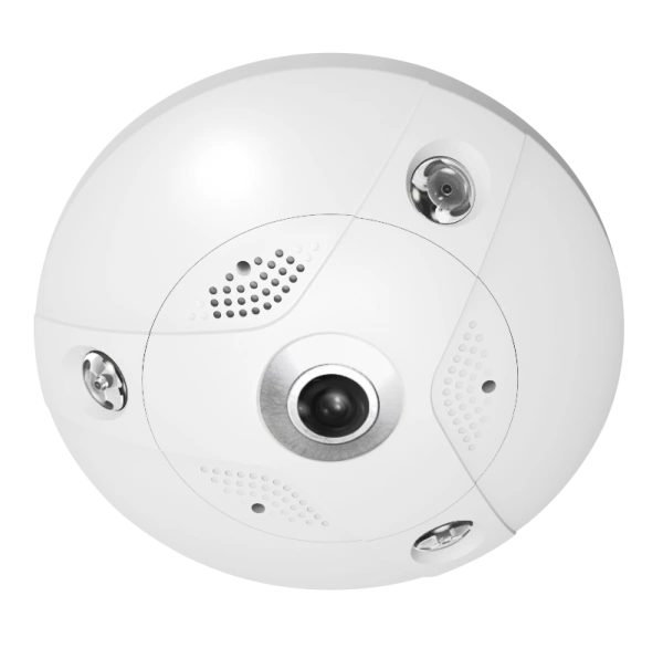 6MP HD 360-degree/hemispheric fisheye camera