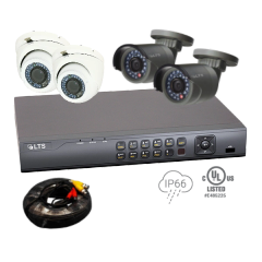4 Camera (Gold) Security Bundle