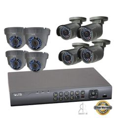 Eight 2.1.MP Security Camera Bundle w/ Installation