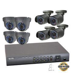 Eight 2.1.MP Security Camera Bundle w/ Installation