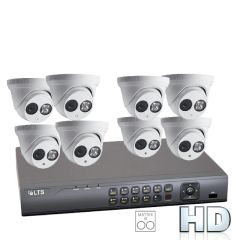 Eight 2.1MP Matrix IR Security Camera Bundle with Installation