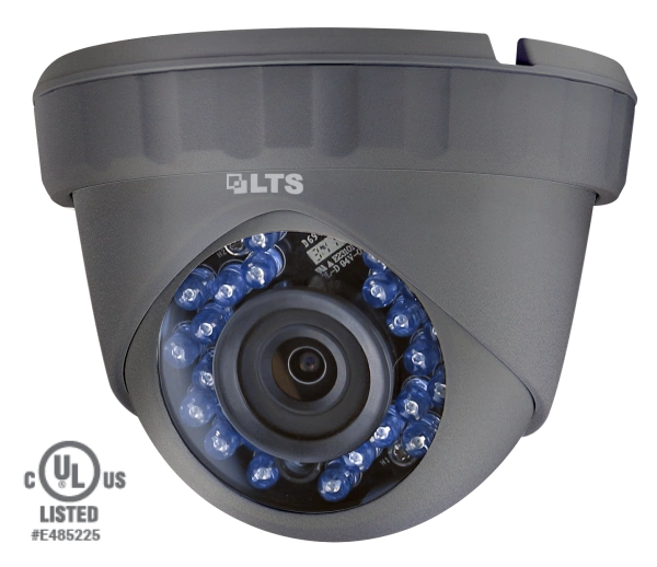 2.1 MP High Definition Turret TVI Camera 24 IR LED