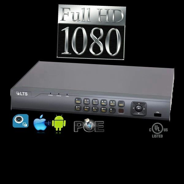 Pro Level 4 Channel Network Video Recorder (NVR)