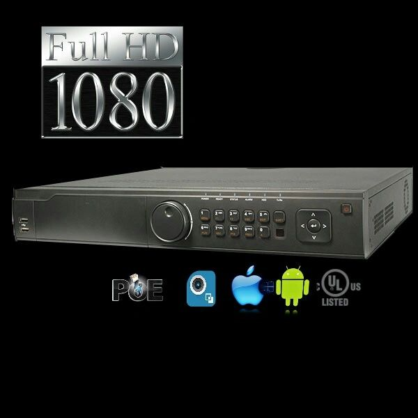 32 Channel Enterprise Level PoE Network Video Recorder (NVR)