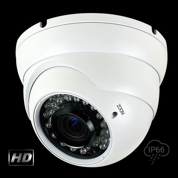 2.1 MP HD-TVI 36 IR LED Varifocal Turret Camera