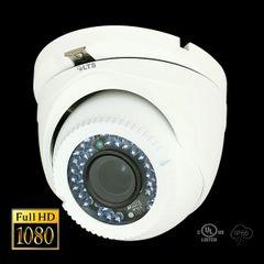 2.1MP HD-TVI True WDR 24 IR LED Turret Camera