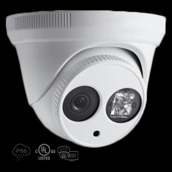 1.3 MP High Definition Turret TVI Camera Matrix IR LED