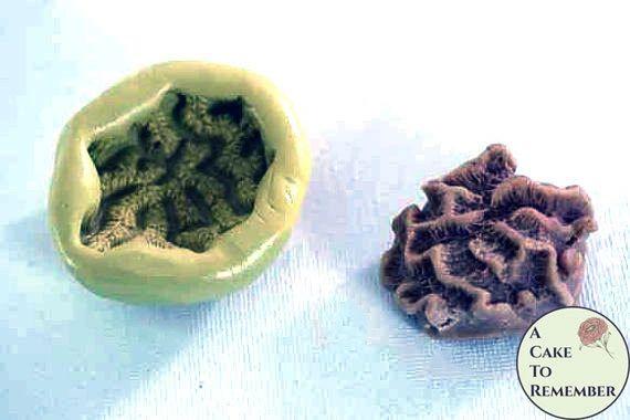 Silicone brain coral mold M38
