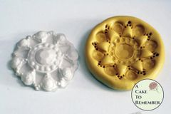 Silicone brooch mold for cake decorating or soap embeds M5003