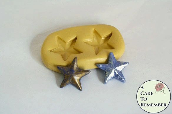Star silicone mold M5090