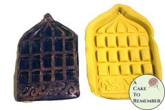 Birdcage silicone mold for cake decorating or polymer clay M093