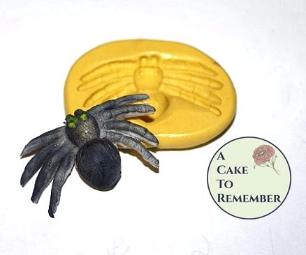 Silicone Spider Mold for Halloween cake decorating M027