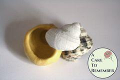 "1.5"" sea snail shell silicone sugar mold M5149"