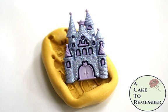 """2"""" princess castle silicone rubber mold M5187"""