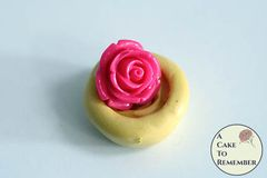 Little rose miniature food grade silicone rubber mold M5019