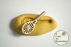 Tennis racquet mini food grade silicone rubber mold M5226
