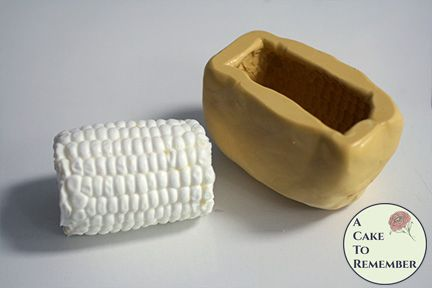 3D Corn on the cob mold for resin or stew pot cakes
