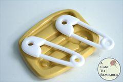 """2.5"""" diaper pin silicone mold M5244"""
