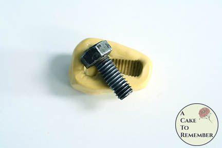 Screw mini mold flexible silicone mold M5215