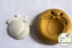 """1.25"""" peach mold for cake decorations M5255"""