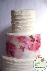 Cherry blossoms edible wafer paper cake wraps