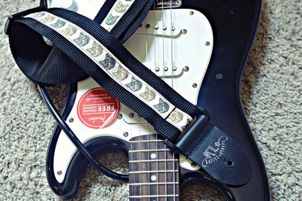 CAT Guitar Strap