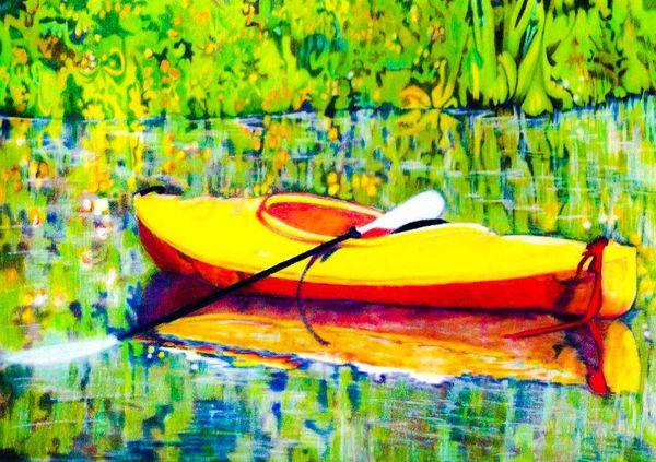 Kayak at Buttonhook Bay