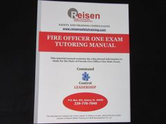 Fire Officer One Exam Tutoring Manual