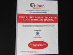 Fire and Life Safety Educator Exam Tutoring Manual
