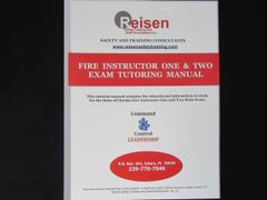 Fire Service Instructor I & II Exam Tutoring Manual