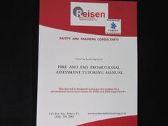 Assessment Center Promotional Fire/EMS Service Tutoring Manual