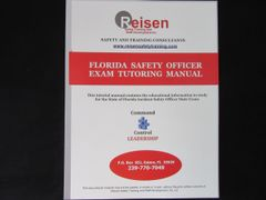 Florida Safety Officer Exam Tutoring Manual
