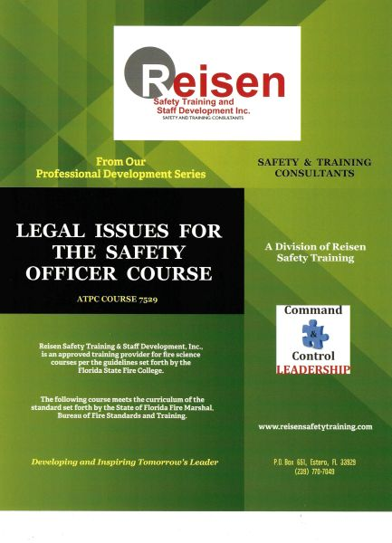 Legal Issues for the Safety Officer Course PowerPoint Manual
