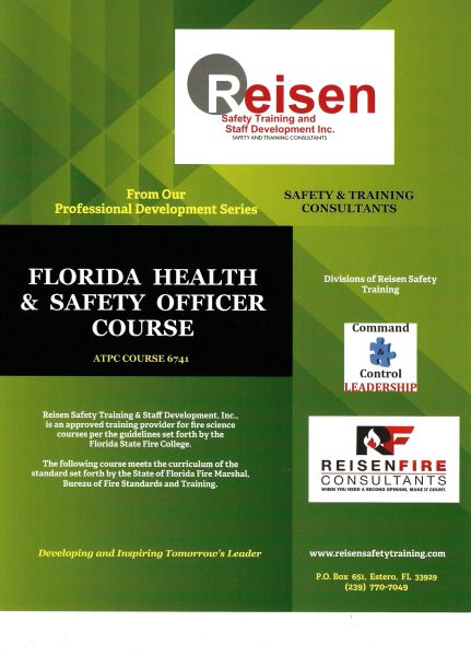 Florida Health and Safety Officer Course PowerPoint Manual