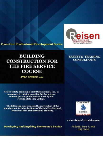 Building Construction for the Fire Service Course PowerPoint Manual