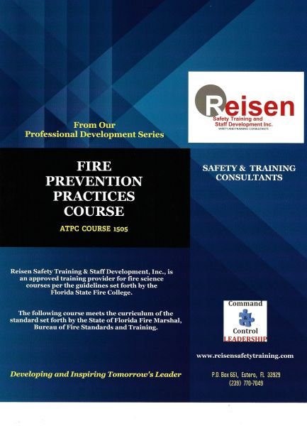 Fire Prevention Practices Course PowerPoint Manual
