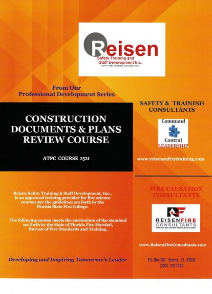 Construction Documents and Plans Review Course PowerPoint Manual