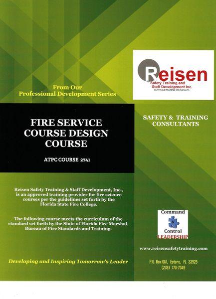 Fire Service Course Design Course PowerPoint Manual