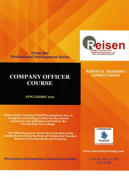 Company Officer Course PowerPoint Manual