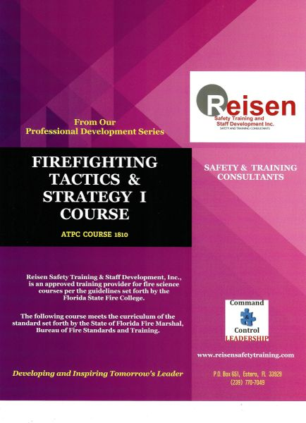 Firefighting Tactics & Strategy I Course PowerPoint Manual