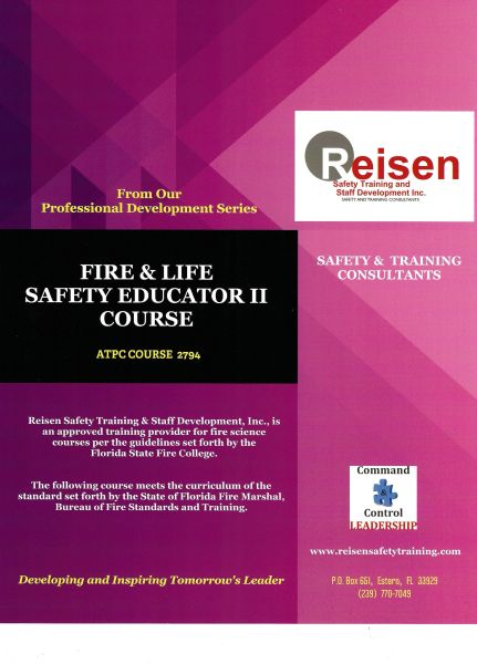 Fire & Life Safety Educator II Course PowerPoint Manual